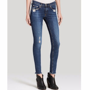 Rag & Bone La Paz distressed skinny jeans 26
